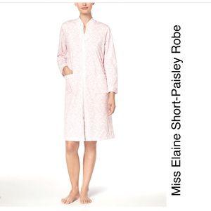 Miss Elaine Short-Paisley Robe! Small
